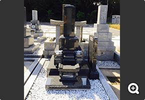 墓石リフォーム 佐倉市内寺院墓地