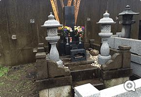 外柵リフォーム 八千代市内共同墓地