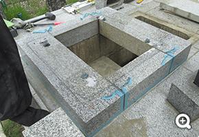 耐震リフォーム 印西市内共同墓地