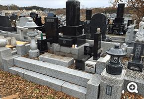 墓所解体更地化工事 宮城県松島市内寺院墓地