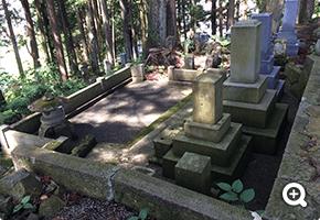 墓所解体更地化工事 岐阜県高山市営墓地