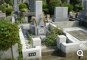 墓所解体更地化工事 東京都立八柱霊園